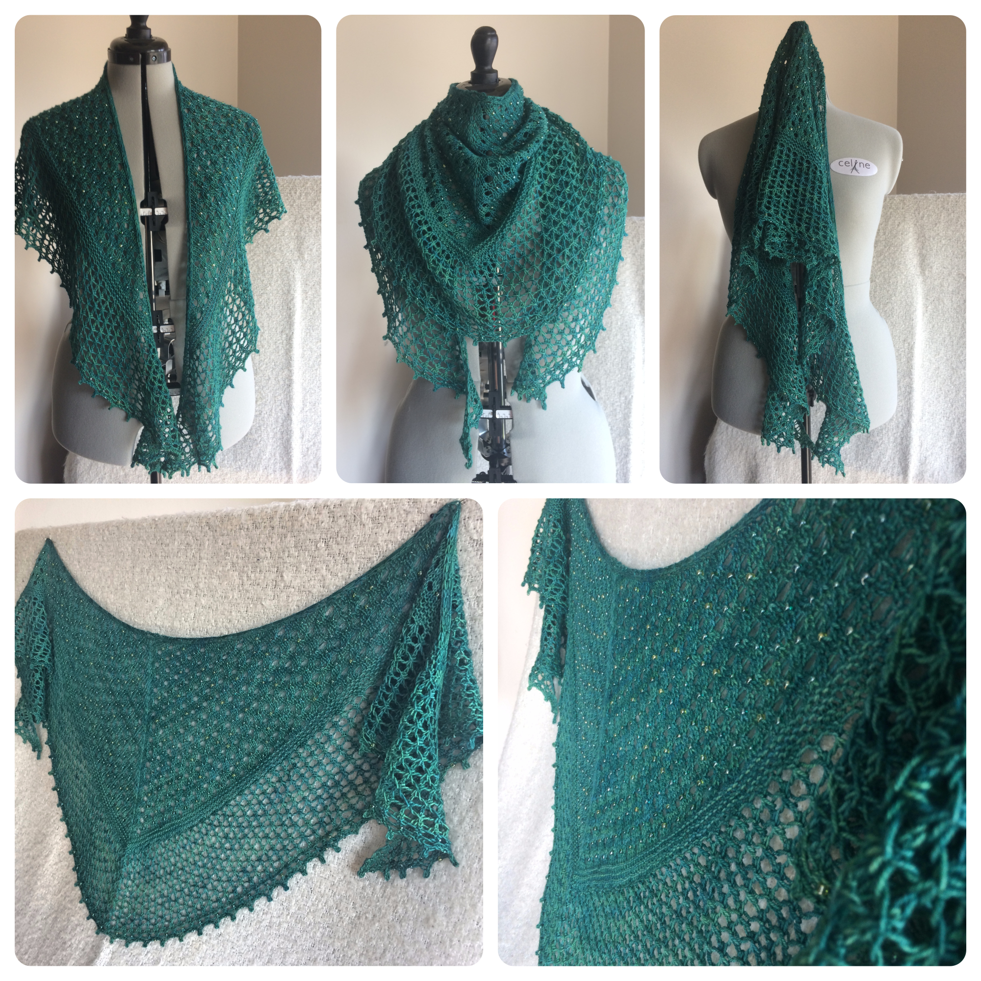 Rainforest Shawl