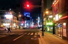 Fukuoka at night