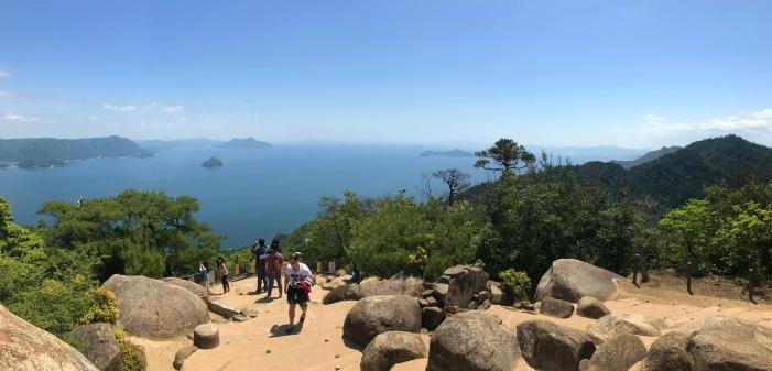 Ocean vibes - Mt Misen, Miyajima Island