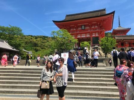 In good company - Kiyomizu Dera. Kyoto