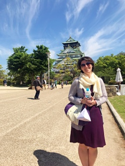 Still in good company - Osaka Castle