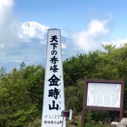 Top of the world - Mt Kintoki, Hakone