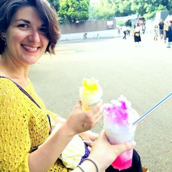 かき氷 at Ueno Park